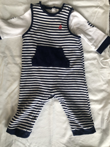 Little Me 6-9M Overalls and Rompers